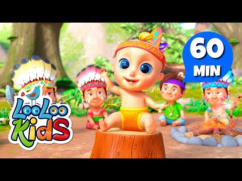 Ten Little Indians - Great Songs for Children | LooLoo Kids