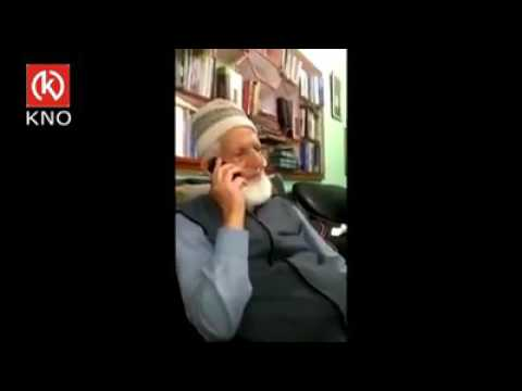 Kashmie issue and voilance Syed Ali Shah Geelani s todays telephonic speech on funeral of Mujahid