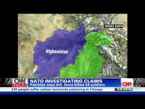 NATO attack kills 24 Pakistani soldiers