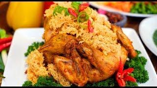 Cara Membuat Ayam Kremes Bersarang dan Keren Hasilnya