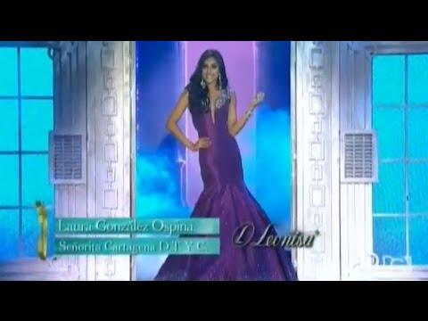Laura Gonzalez es la Nueva Miss Colombia 2017