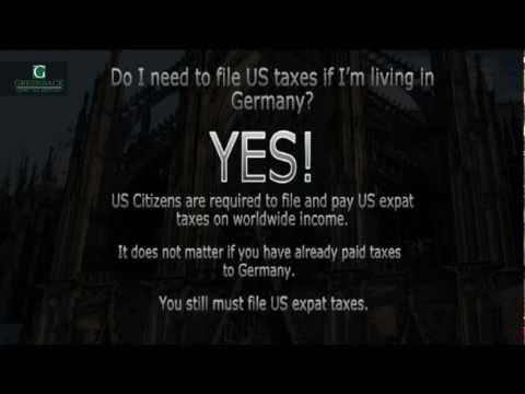 Filing Taxes as an American Living in Germany -- US Expat Taxes Explained