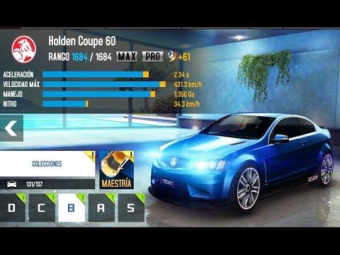 Asphalt 8 Holden 60 Upgrades Max Pro Youtube