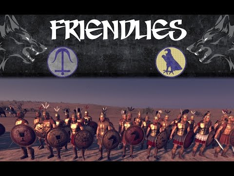 "Wolf ""Friendlies""-Blademaster(Seleucid) vs Pirro(Egypt) |"