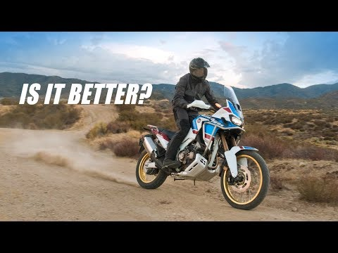 Honda Africa Twin 'Adventure Sports' Tested - The Best Africa Twin Yet?