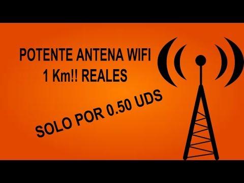 Tutorial Antena WiFi Casera 2017 POTENTE