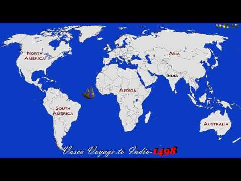 Vasco da gama voyage to India HD