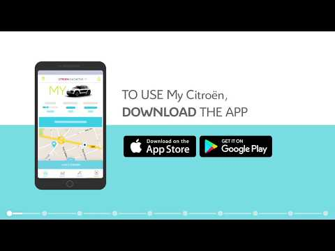 My CITROËN APP tutorial in English - YouTube