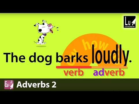 Adverbs 2 Song – Learn Grammar – Learning Upgrade App