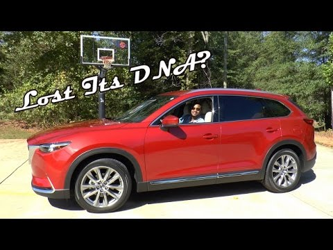 2016 mazda cx 9 grand touring awd review lost its dna youtube. Black Bedroom Furniture Sets. Home Design Ideas