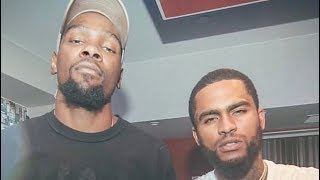 Kevin Durant And Dave East Have Been Supporting Each Other Since Their AAU Days