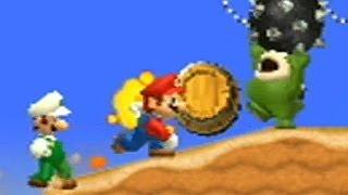 New Super Mario Bros Wii - Coin Battle #2