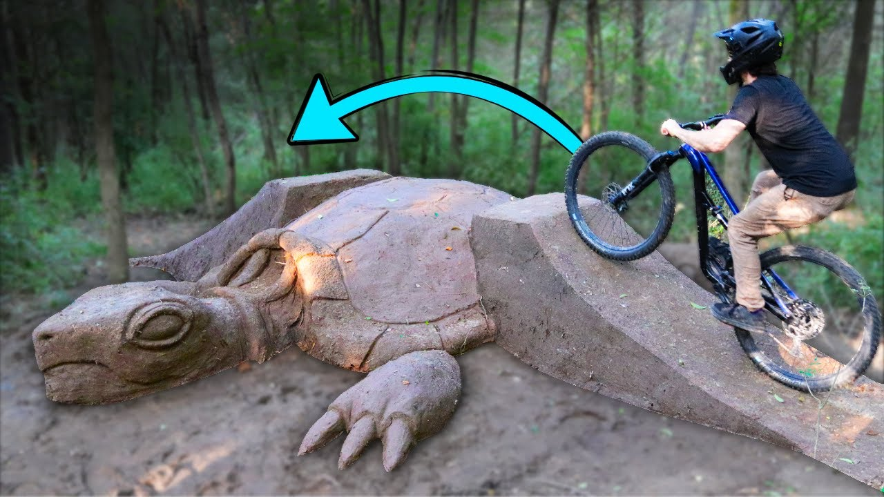 Sculpting the WORLDS first Turtle Jump!
