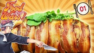 Hoy preparamos el Cerdo al Horno ¡FALSO! de Shokugeki No Soma Me lo...