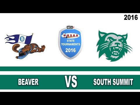Football 2A State Finals  Beaver vs South Summit High School