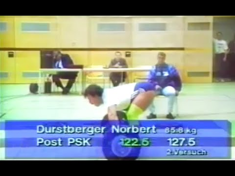 Gewichtheberfinale zw. Post SV Wien und SK Voest Linz 1992