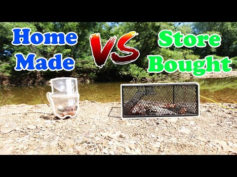 Homemade VS Store Bought Crawfish Trap (Which Is Better??)