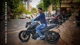 Yamaha FZS 3.0 | HappyGoEfficiency |  Bike Around 1 Lac India
