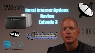 Wireless Rural Internet Options 2018 Update - 4GAS AT&T Verizon Viasat 2