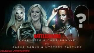 WWE BATTLEGROUND 2016 match card
