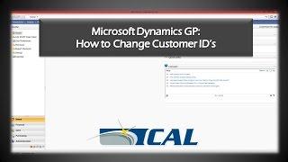 How to Change Customer IDs in Microsoft Dynamics GP