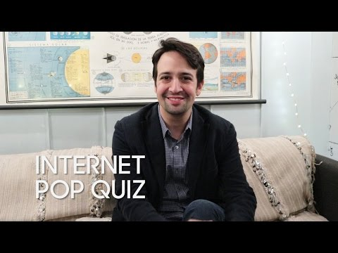 Internet Pop Quiz with Lin-Manuel Miranda