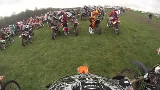 IXCR 2015 Round 3 Circle W farms GoPro starting line footage
