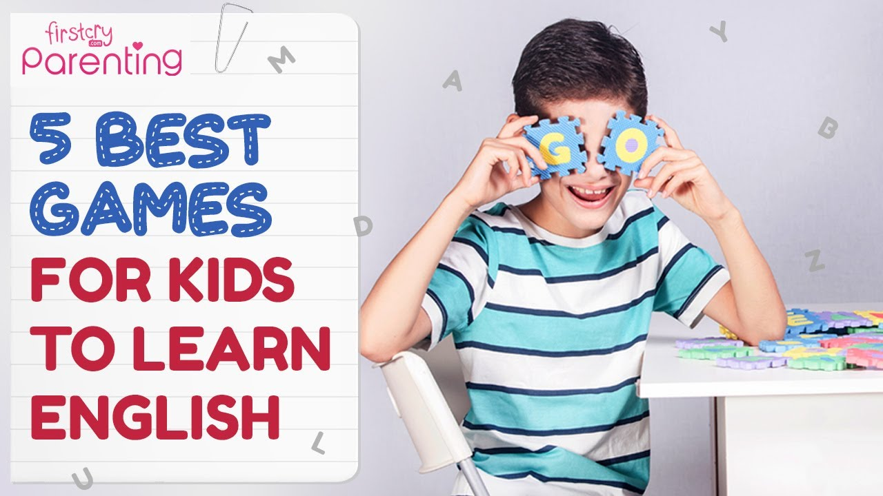 5 Easy And Fun Games For Kids To Learn English Youtube