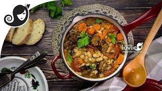 Vegan Cassoulet Recipe | French White Bean Stew