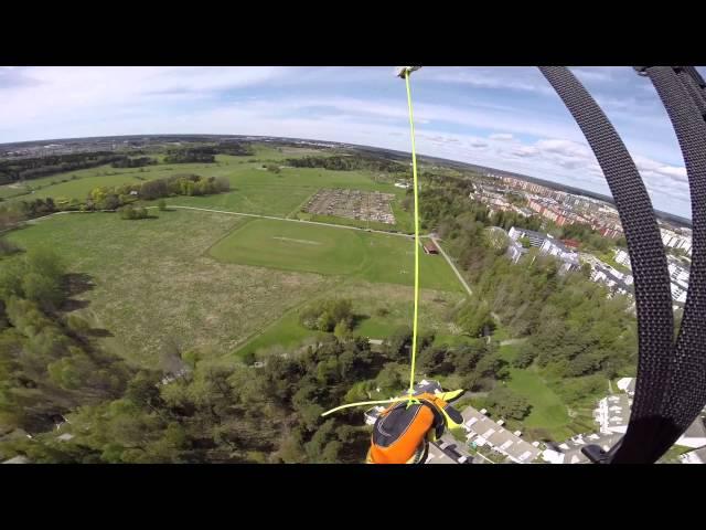 Paragliding Barkarby Kista Sweden 20150509