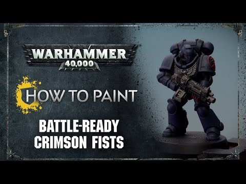 How to Paint: Battle-Ready Crimson Fists