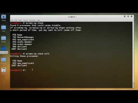 WiFi Wireless Security Tutorial - 3 - Enabling Monitor Mode - YouTube