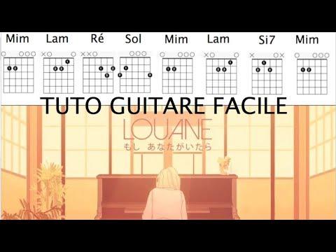 partition guitare louane si t'etais la