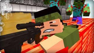 Внимание, работает снайпер [ЧАСТЬ 26] Зомби апокалипсис в майнкрафт! - (Minecraft - Сериал)