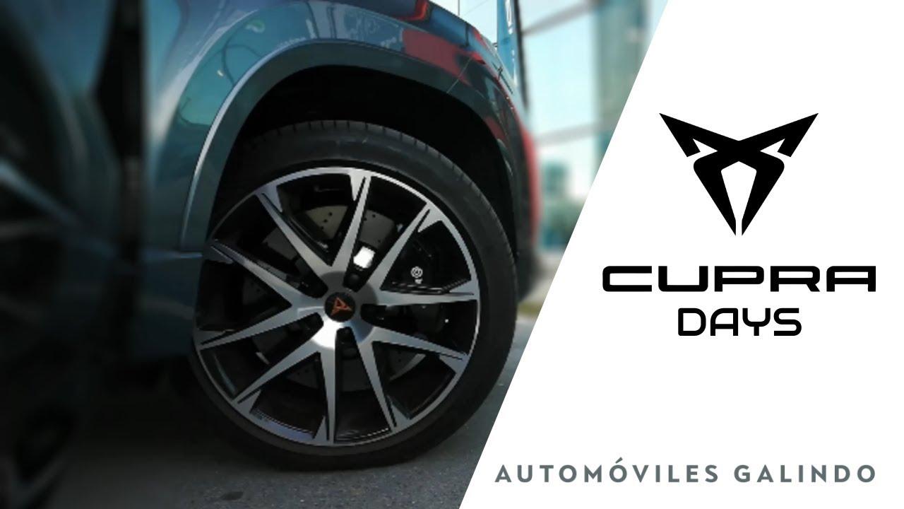 CUPRA DAYS en Automóviles Galindo