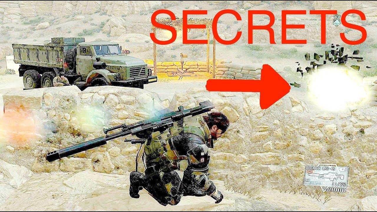 Metal Gear Solid 5 Secrets
