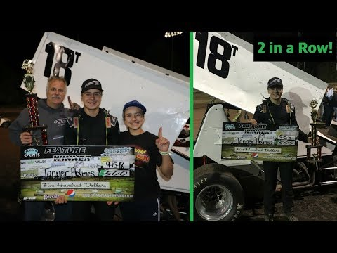 Two Sprint Car Wins in a Row! (Cottage Grove Speedway)