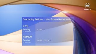 Promo - Concluding Address - Jalsa Netherlands 2019
