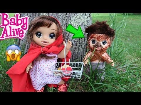 BABY ALIVE Little Red Riding Hood Story