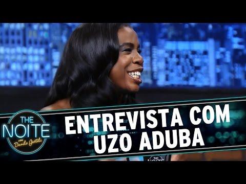 "The Noite 120615  Entrevista Uzo Aduba, de ""Orange is The New Black"""