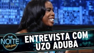 The Noite 120615 - Entrevista Uzo Aduba de Orange is The New Black
