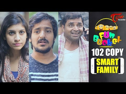 Fun Bucket | SMART FAMILY | 102nd Episode | Funny Videos | Harsha Annavarapu | Comedy Web Series