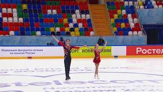 Короткая программа Юниоры Пары Москва Кубок России по фигурному катанию 2020 21