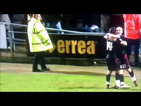 Northampton 1-2 Swindon Paolo Di Canio 'Mourinho Run'
