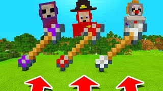 Minecraft PE : DO NOT CHOOSE THE WRONG ARROW! (NewBorn, Ruby & ClownTubby Slendytubbies)