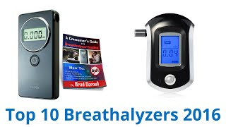 10 Best Breathalyzers 2016