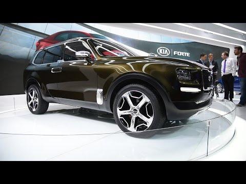 Kia Telluride Concept 2016 Detroit Auto Show