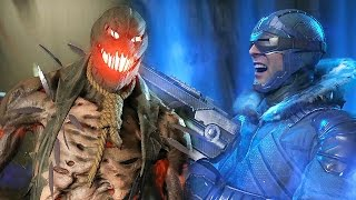 Injustice 2 - Scarecrow & Captain Cold Reveal Trailer @ 1080p HD ✔
