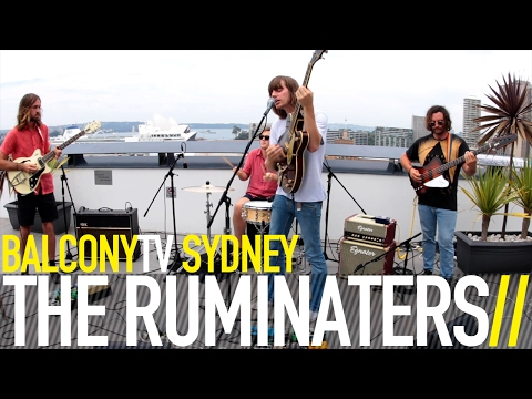THE RUMINATERS - A SONG FOR THE DANDELION (BalconyTV)