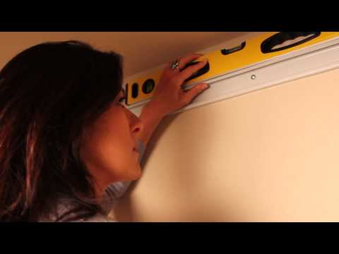 Meryl Starr installs Closetmaid Wire shelving